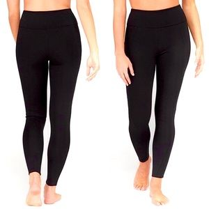 XL ASSETS Ponte Shaping Legging in Black NWT NIP